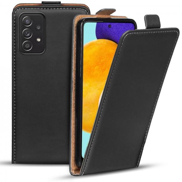 Safers Flipcase für Samsung Galaxy A72 5G Hülle Klapphülle Cover klassische Handy Schutzhülle