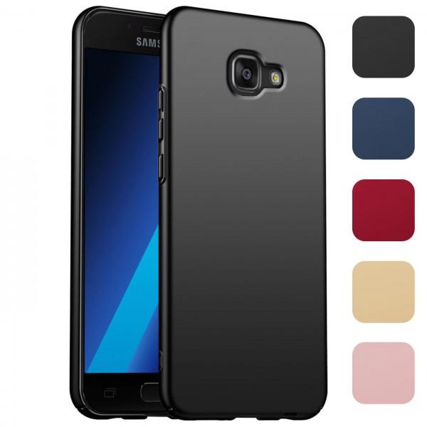 Safers Classic Plain für Samsung Galaxy A5 2016 Hülle Slim Cover Matt Schutzhülle