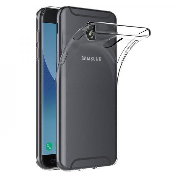 Safers Zero Case für Samsung Galaxy J5 2017 Hülle Transparent Slim Cover Clear Schutzhülle