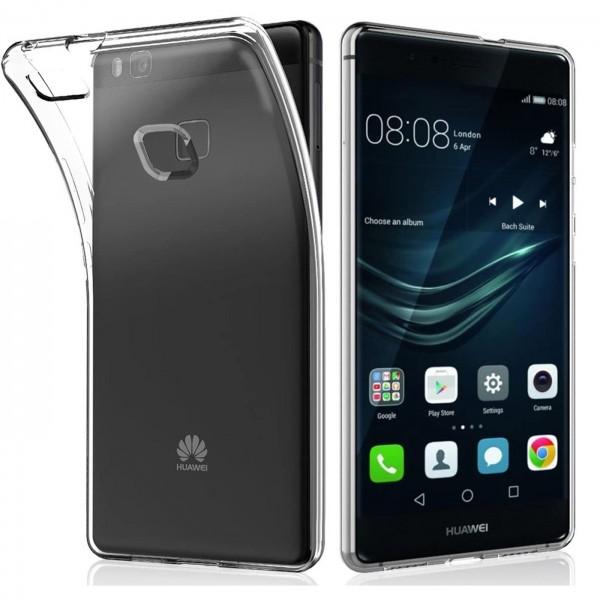 Safers Zero Case für Huawei P9 Lite Hülle Transparent Slim Cover Clear Schutzhülle