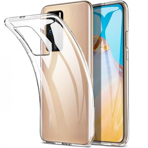 Safers Zero Case für Huawei P40 Pro Hülle Transparent Slim Cover Clear Schutzhülle