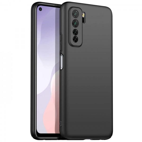 Safers Classic TPU für Huawei P40 Lite 5G Schutzhülle Hülle Schwarz Handy Case