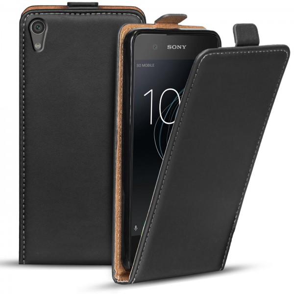 Safers Flipcase für Sony Xperia XA1 Hülle Klapphülle Cover klassische Handy Schutzhülle