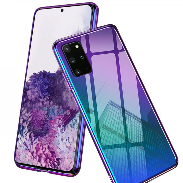Safers Twilight Hülle für Samsung Galaxy A41 Schutzhülle Handy Farbwechsel Case