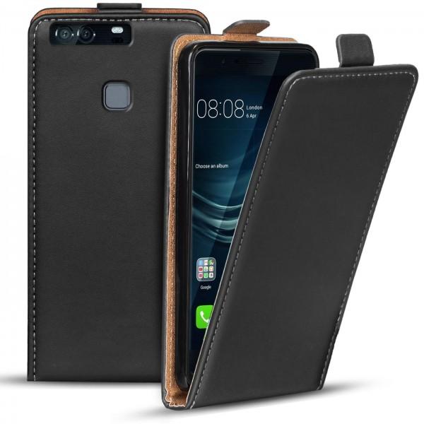 Safers Flipcase für Huawei P9 Hülle Klapphülle Cover klassische Handy Schutzhülle