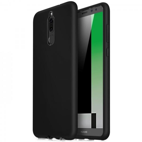 Safers Classic TPU für Huawei Mate 10 Lite Schutzhülle Hülle Schwarz Handy Case