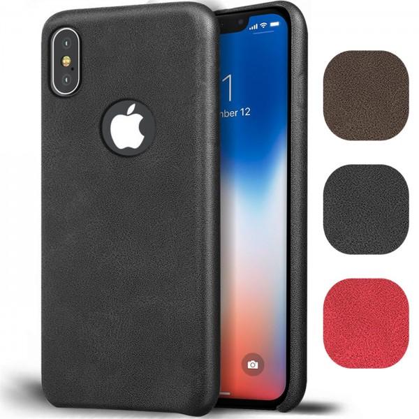 Safers Unibody für iPhone X / XS Hülle Ultra Slim Back Case Schutz Tasche Cover