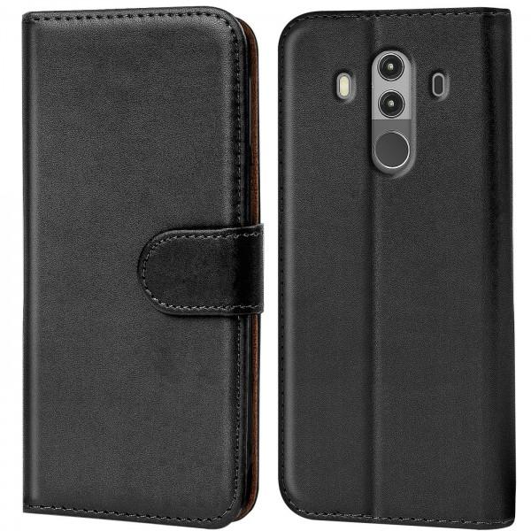 Safers Basic Wallet für Huawei Mate 10 Pro Hülle Bookstyle Klapphülle Handy Schutz Tasche