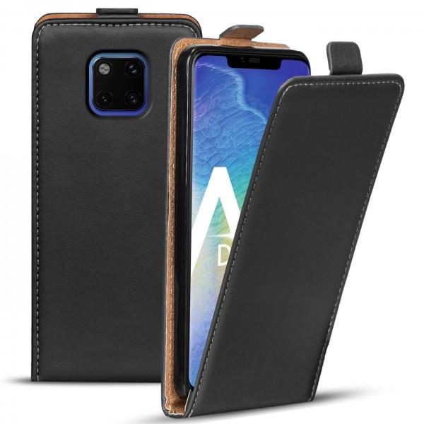 Safers Flipcase für Huawei Mate 20 Pro Hülle Klapphülle Cover klassische Handy Schutzhülle