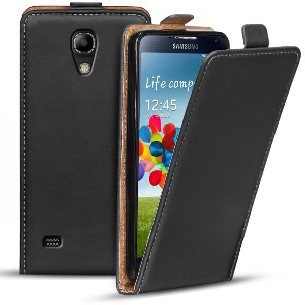 Safers Flipcase für Samsung Galaxy S4 Hülle Klapphülle Cover klassische Handy Schutzhülle