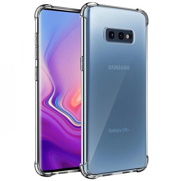 Safers Rugged TPU für Samsung Galaxy S10e Schutzhülle Anti Shock Handy Case Transparent