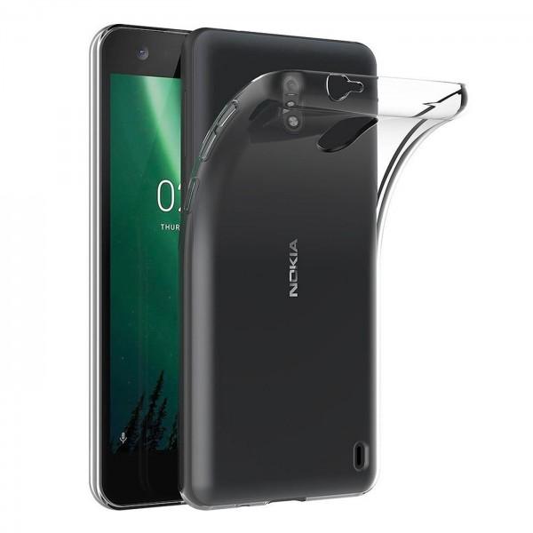 Safers Zero Case für Nokia 2 Hülle Transparent Slim Cover Clear Schutzhülle