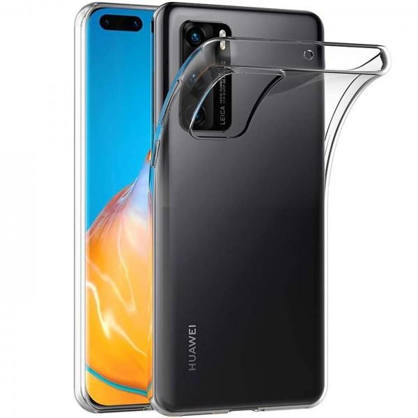 Safers Zero Case für Huawei P40 Hülle Transparent Slim Cover Clear Schutzhülle