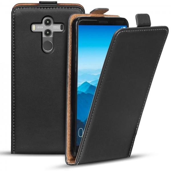 Safers Flipcase für Huawei Mate 10 Pro Hülle Klapphülle Cover klassische Handy Schutzhülle