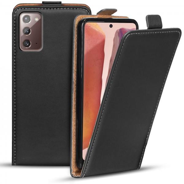 Safers Flipcase für Samsung Galaxy Note 20 Hülle Klapphülle Cover klassische Handy Schutzhülle