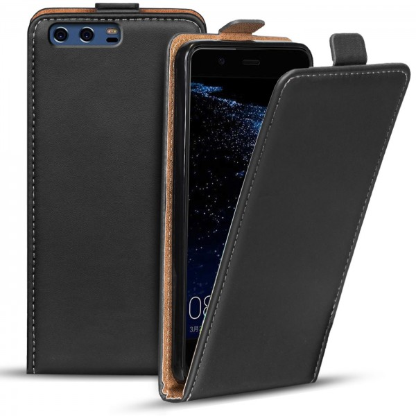 Safers Flipcase für Huawei P10 Hülle Klapphülle Cover klassische Handy Schutzhülle