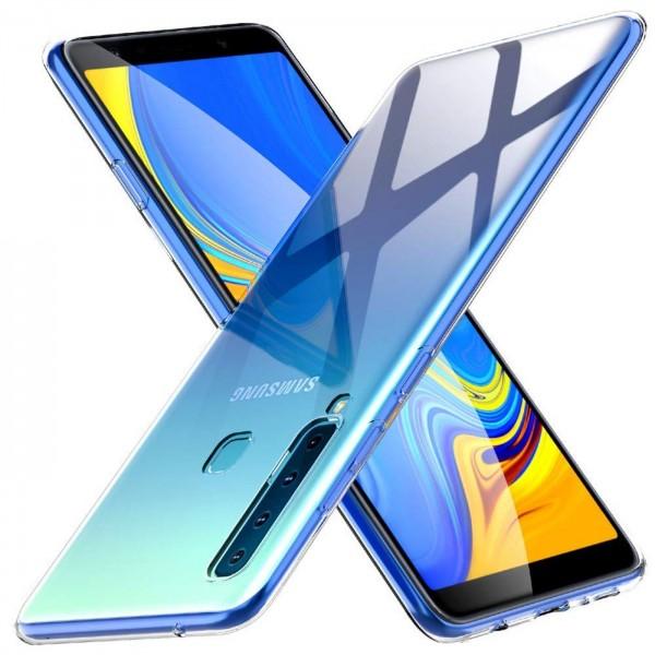 Safers Zero Case für Samsung Galaxy A9 2018 Hülle Transparent Slim Cover Clear Schutzhülle