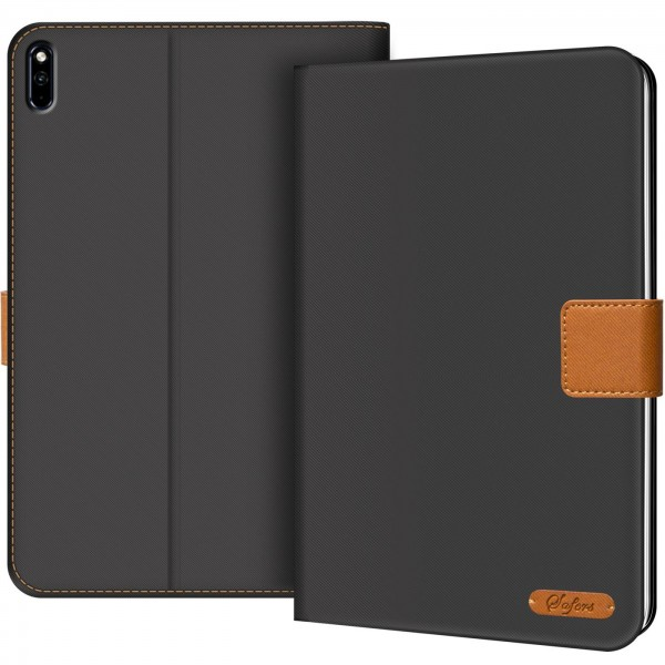 Safers Texture Case für Huawe MatePad Pro 10.8 Hülle Tablet Tasche mit Kartenfach