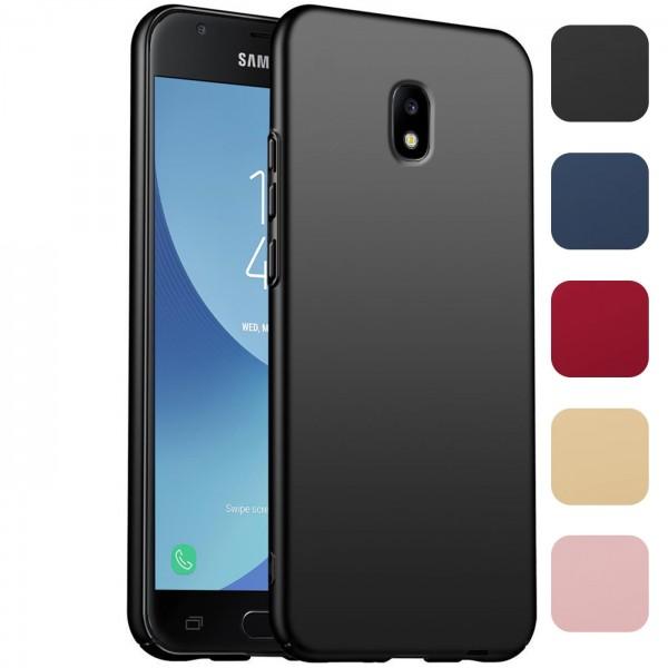Safers Classic Plain für Samsung Galaxy J7 2017 Hülle Slim Cover Matt Schutzhülle