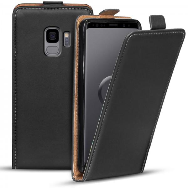 Safers Flipcase für Samsung Galaxy S9 Hülle Klapphülle Cover klassische Handy Schutzhülle