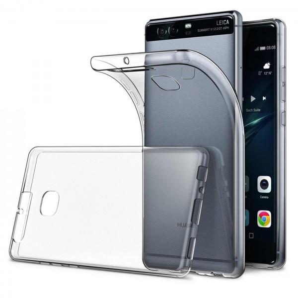 Safers Zero Case für Huawei P9 Hülle Transparent Slim Cover Clear Schutzhülle