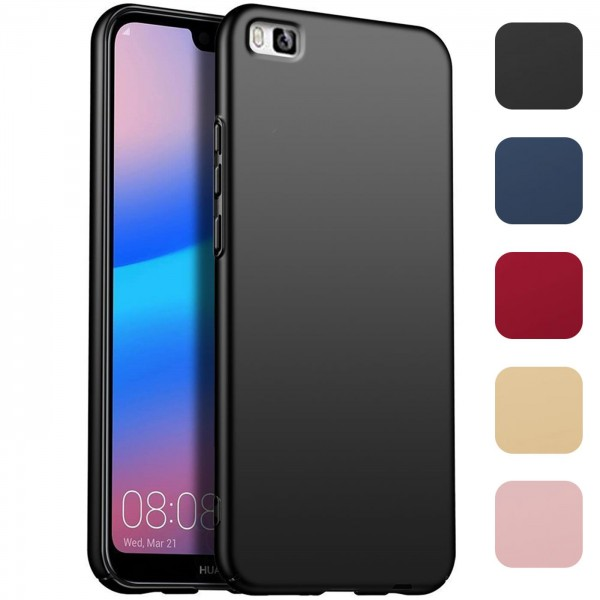 Safers Classic Plain für Huawei P8 Lite Hülle Slim Cover Matt Schutzhülle