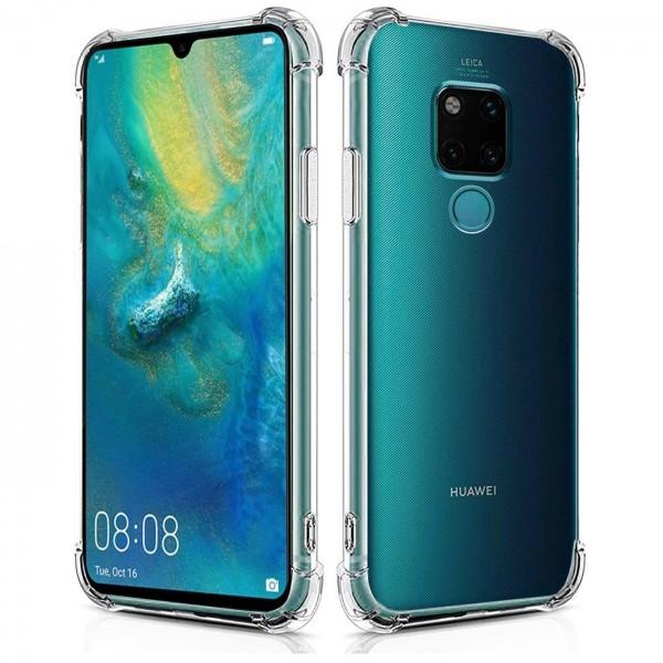 Safers Rugged TPU für Huawei Mate 20 Schutzhülle Anti Shock Handy Case Transparent Cover