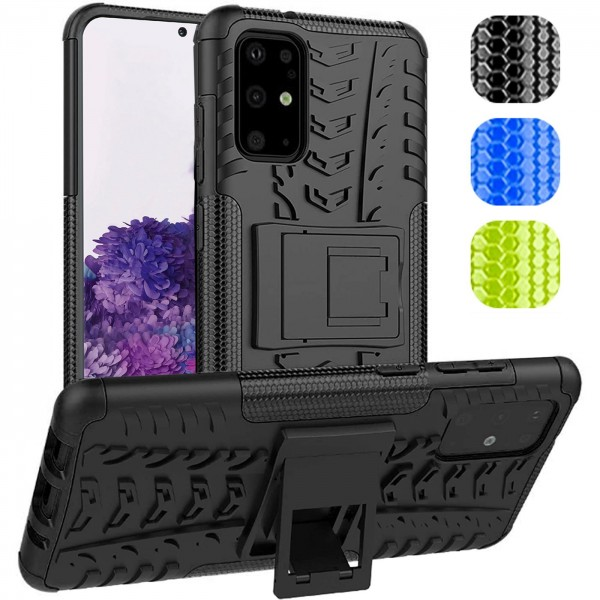 Safers Outdoor Hülle für Samsung Galaxy S20 Plus Case Hybrid Armor Cover Schutzhülle