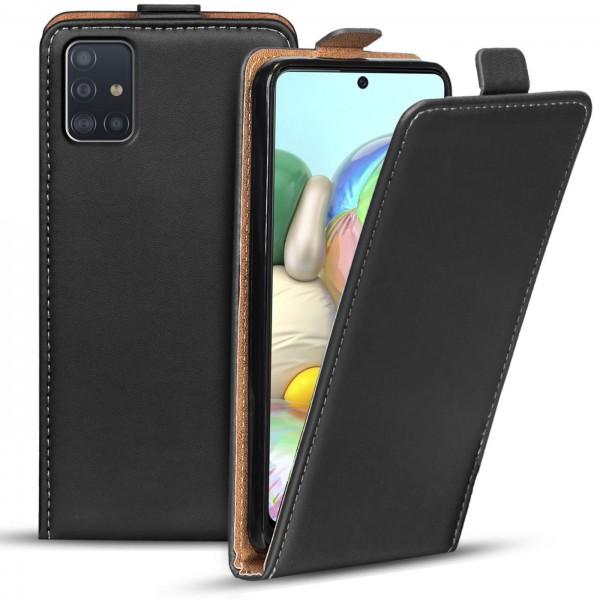 Safers Flipcase für Samsung Galaxy A71 Hülle Klapphülle Cover klassische Handy Schutzhülle