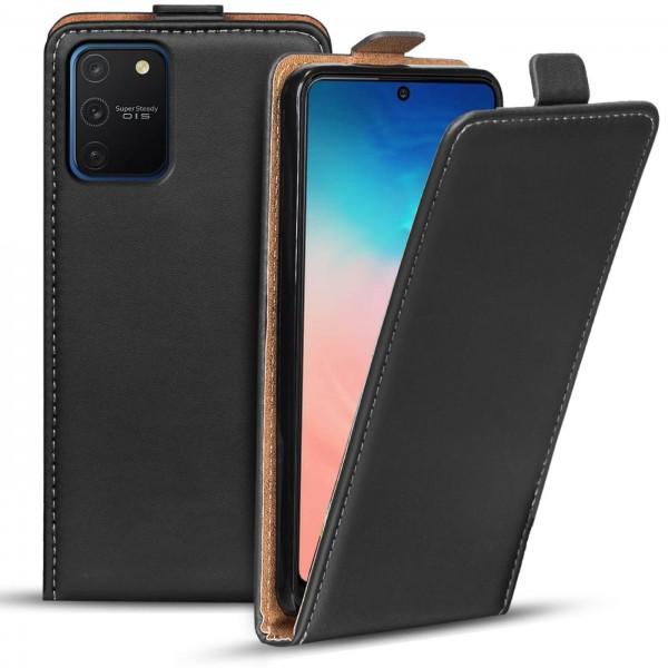 Safers Flipcase für Samsung Galaxy S10 Lite Hülle Klapphülle Cover klassische Handy Schutzhülle