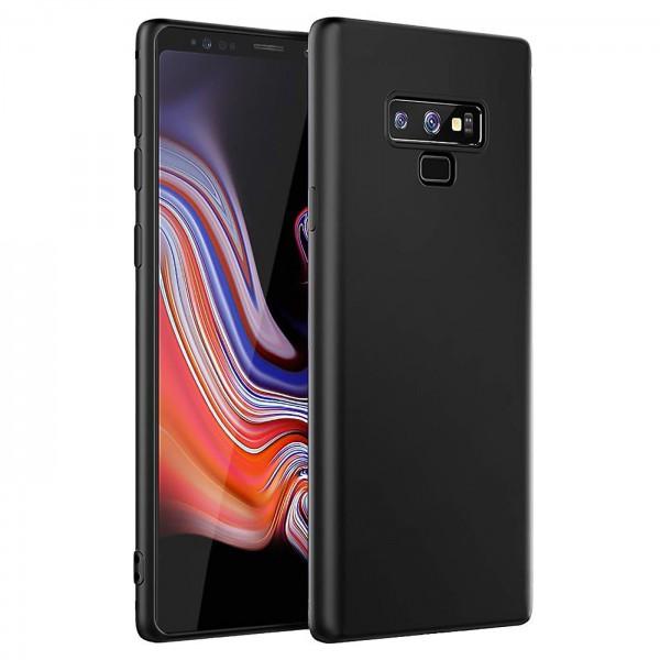 Safers Classic TPU für Samsung Galaxy Note 9 Schutzhülle Hülle Schwarz Handy Case
