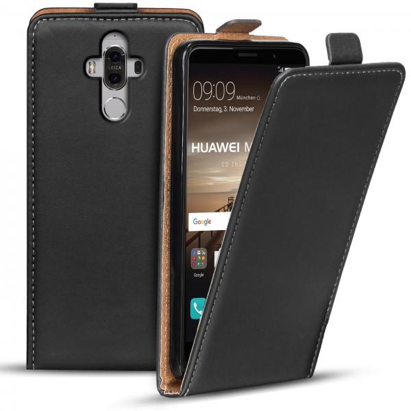 Safers Flipcase für Huawei Mate 9 Hülle Klapphülle Cover klassische Handy Schutzhülle