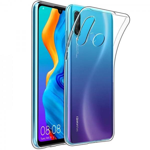 Safers Zero Case für Huawei P40 Lite E Hülle Transparent Slim Cover Clear Schutzhülle