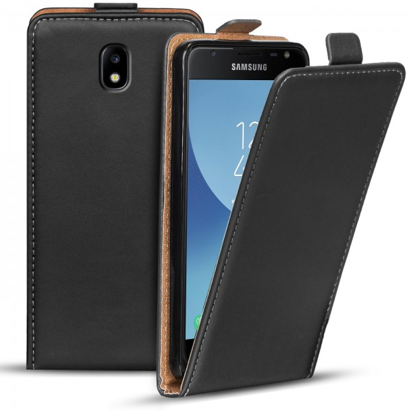 Safers Flipcase für Samsung Galaxy J3 2017 Hülle Klapphülle Cover klassische Handy Schutzhülle