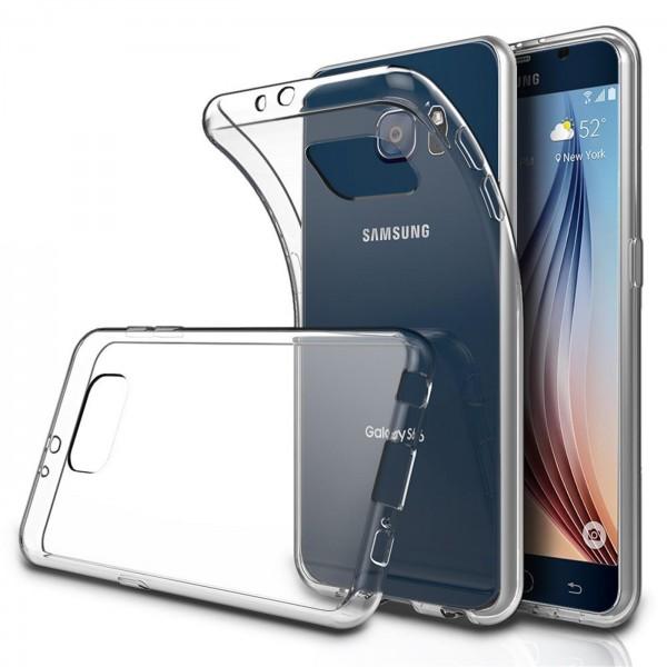Safers Zero Case für Samsung Galaxy S6 Edge Hülle Transparent Slim Cover Clear Schutzhülle