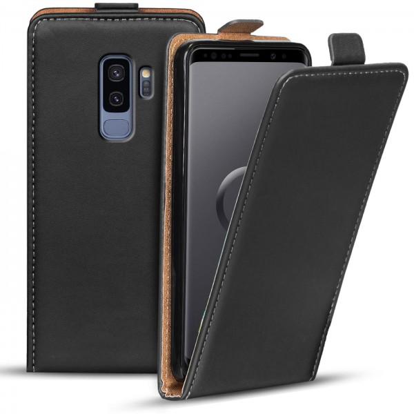 Safers Flipcase für Samsung Galaxy S9 Plus Hülle Klapphülle Cover klassische Handy Schutzhülle