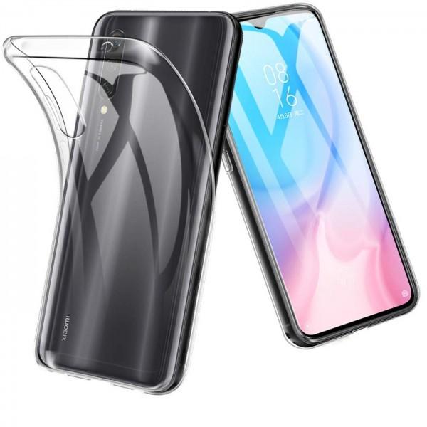 Safers Zero Case für Xiaomi Mi A3 Hülle Transparent Slim Cover Clear Schutzhülle