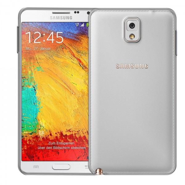 Safers Zero Case für Samsung Galaxy Note 3 Hülle Transparent Slim Cover Clear Schutzhülle