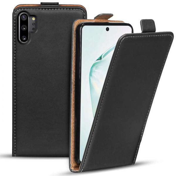 Safers Flipcase für Samsung Galaxy Note 10 Plus Hülle Klapphülle Cover klassische Handy Schutzhülle