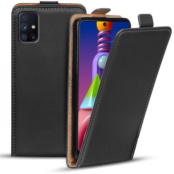Safers Flipcase für Samsung Galaxy M51 Hülle Klapphülle Cover klassische Handy Schutzhülle