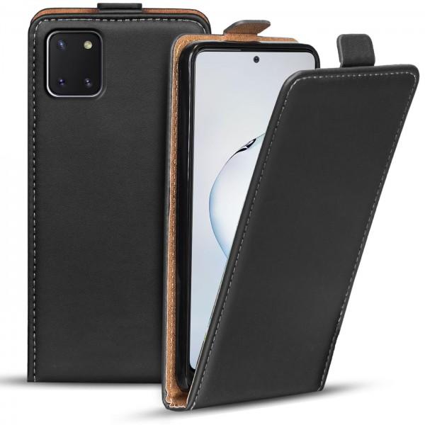 Safers Flipcase für Samsung Galaxy Note 10 Lite Hülle Klapphülle Cover klassische Handy Schutzhülle