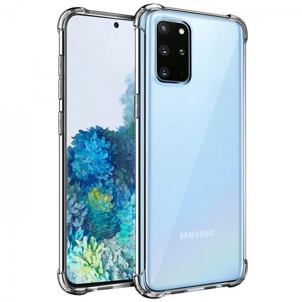 Safers Rugged TPU für Samsung Galaxy S20 Plus Schutzhülle Anti Shock Handy Case Klar Cover