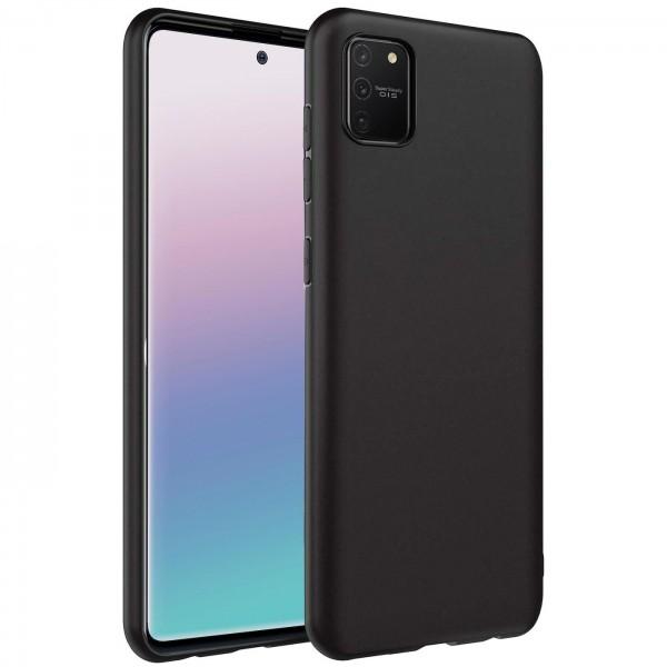 Safers Classic TPU für Samsung Galaxy S10 Lite Schutzhülle Hülle Schwarz Handy Case