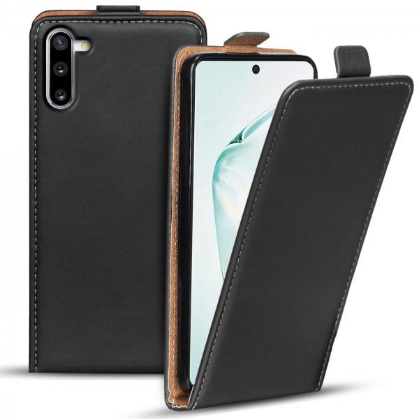 Safers Flipcase für Samsung Galaxy Note 10 Hülle Klapphülle Cover klassische Handy Schutzhülle