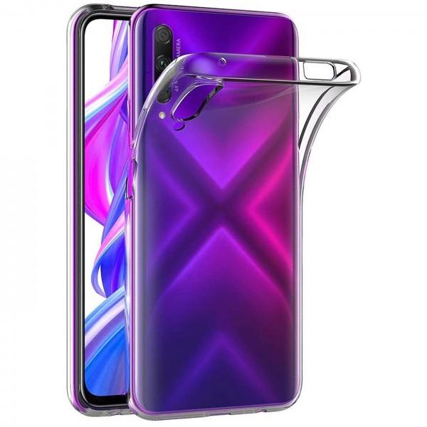 Safers Zero Case für Huawei P Smart Pro Hülle Transparent Slim Cover Clear Schutzhülle