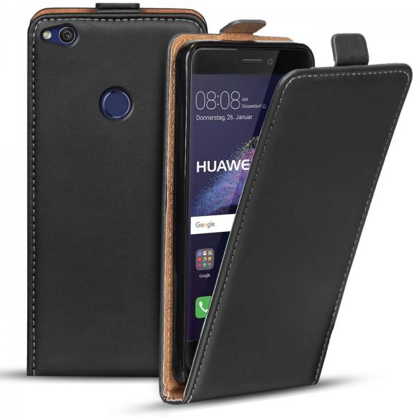 Safers Flipcase für Huawei P8 Lite 2017 Hülle Klapphülle Cover klassische Handy Schutzhülle