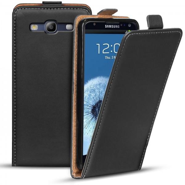 Safers Flipcase für Samsung Galaxy S3 Hülle Klapphülle Cover klassische Handy Schutzhülle
