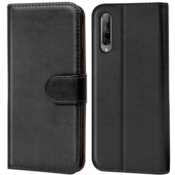 Safers Basic Wallet für Honor 9X Pro Hülle Bookstyle Klapphülle Handy Schutz Tasche