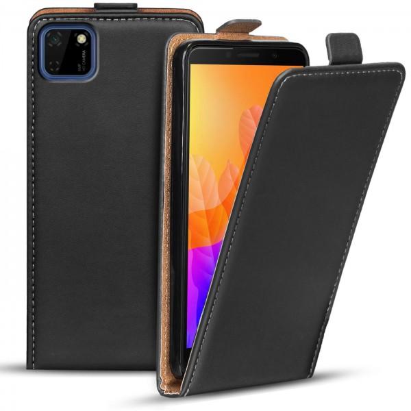 Safers Flipcase für Huawei Y5p Hülle Klapphülle Cover klassische Handy Schutzhülle