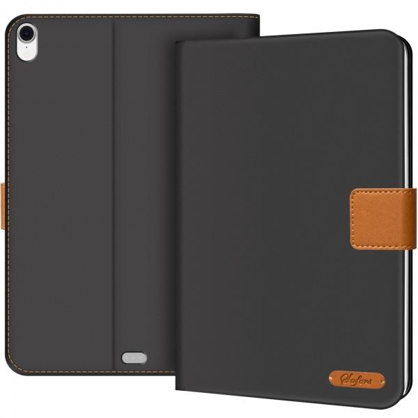 Safers Texture Case für iPad Pro 12.9 (2018) Hülle Tablet Tasche mit Kartenfach